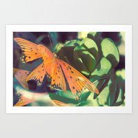 Autumn Spirit Flight Art Print