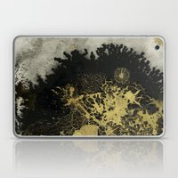 Black and gold Laptop & iPad Skin