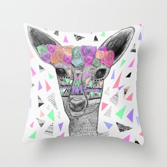 BLOWN A WISH Throw Pillow