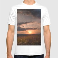 In the middle of the Summer Mens Fitted Tee White SMALL