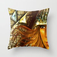 GAZE Throw Pillow