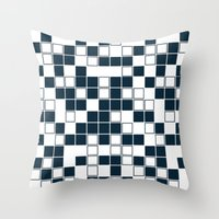 Don't be a square Throw Pillow
