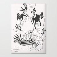 Mushroom Gypsy Canvas Print
