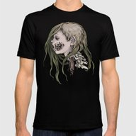 Gore Girl Mens Fitted Tee Black SMALL