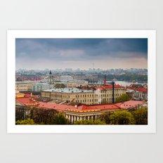 Saint Petersburg , Russia Art Print