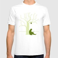 Apple CircuiTree Mens Fitted Tee White SMALL