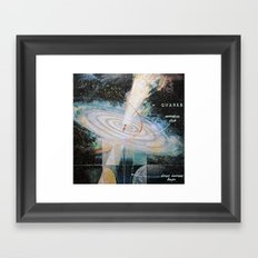 quasar Framed Art Print