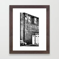 The Lines of Things Framed Art Print
