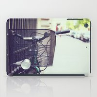 Bike In Paris iPad Case