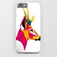 iPhone & iPod Case featuring huemul perfil by Alvaro Tapia Hidalgo