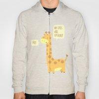 Giraffe problems! Hoody