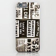 night life iPhone 6s Slim Case