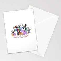 Giddy-Up Fairytale Cowgirl Characters Stationery Cards