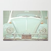 Mint Bug Canvas Print