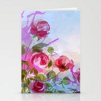 Joyful Flowers Stationery Cards