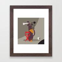 henk 4 Framed Art Print