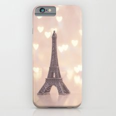 Left my heart in paris iPhone 6s Slim Case