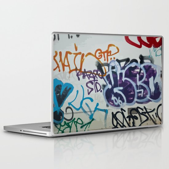 Vektorgraf Laptop & iPad Skin