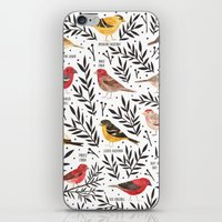 Finches of North American Field Guide iPhone & iPod Skin