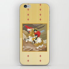 Napoleon Crossing the Alps by  Jacques-Louis David  iPhone & iPod Skin