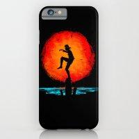 Minimalist Karate Kid Tribute Painting iPhone 6 Slim Case