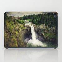 Snoqualmie Falls, Washington iPad Case