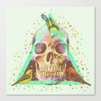 The Skull Canvas Print