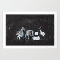 Now in Technicolour... Art Print