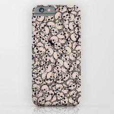 Skull Pattern Slim Case iPhone 6s