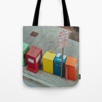 Bright City Tote Bag