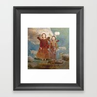 Did You Think We Would S… Framed Art Print