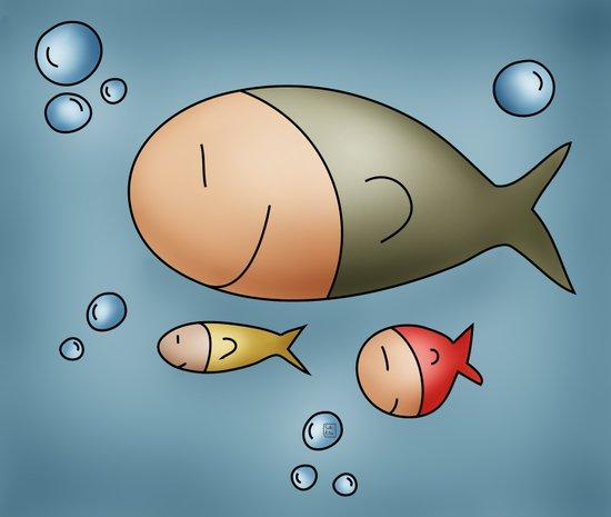 Fishes Art Print