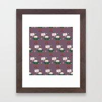 Day 23/25 Advent - Little Helpers on Strike Framed Art Print