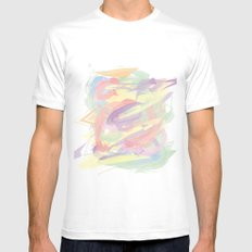 Unconditional Love Mens Fitted Tee White SMALL