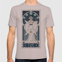 Yue Nouveau Mens Fitted Tee Cinder SMALL