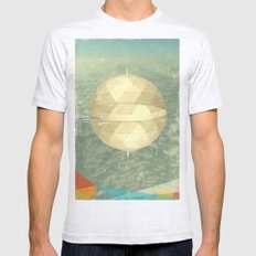 Space Dome Mens Fitted Tee Ash Grey SMALL