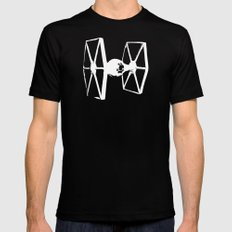 DS-61-2 Minimalist SMALL Mens Fitted Tee Black