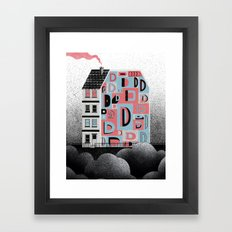 No. 26 Zine - D Framed Art Print
