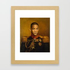 Will Smith - Replaceface Framed Art Print