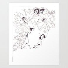 BELLisima FLora Art Print