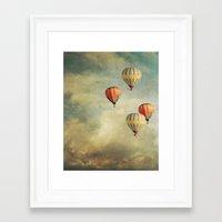 Tales Of Far Away Framed Art Print
