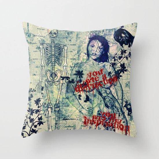You are Mine. Throw Pillow