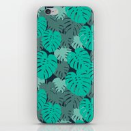 Monstera House Plant Lea… iPhone & iPod Skin