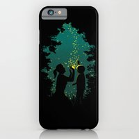 iPhone & iPod Case featuring Fireflies by pigboom el crapo