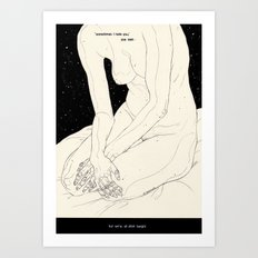 The Night Is Coming Art Print