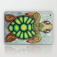 Baby Sea Turtle Laptop & iPad Skin