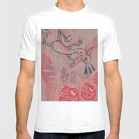 Dick And Jane Go To Disn… Mens Fitted Tee White SMALL