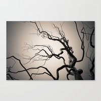 Chrome Tree Canvas Print