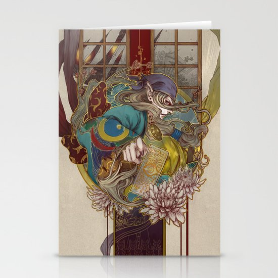 bakeneko Stationery Card