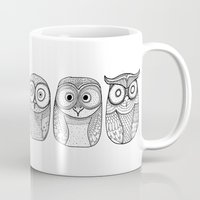 Six Pack (owl collective) Mug